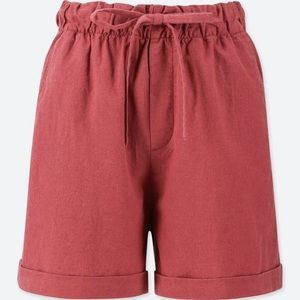 Uniqlo Relaxed Linen Shorts